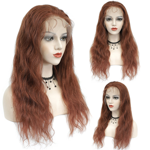 Image 3 - Brown Auburn Lace Front Human Hair Wigs Body Wave 13x4 Lace Wigs For Black Women Pre Plucked Brazilian Hair Wigs Remy Wig 150%