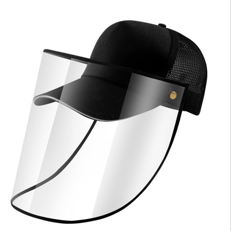 Children Anti-spitting Powder Wind Sand Baseball Cap Mask Anti-UV Multi-function Dustproof Protective Caps Eye Protection Hat