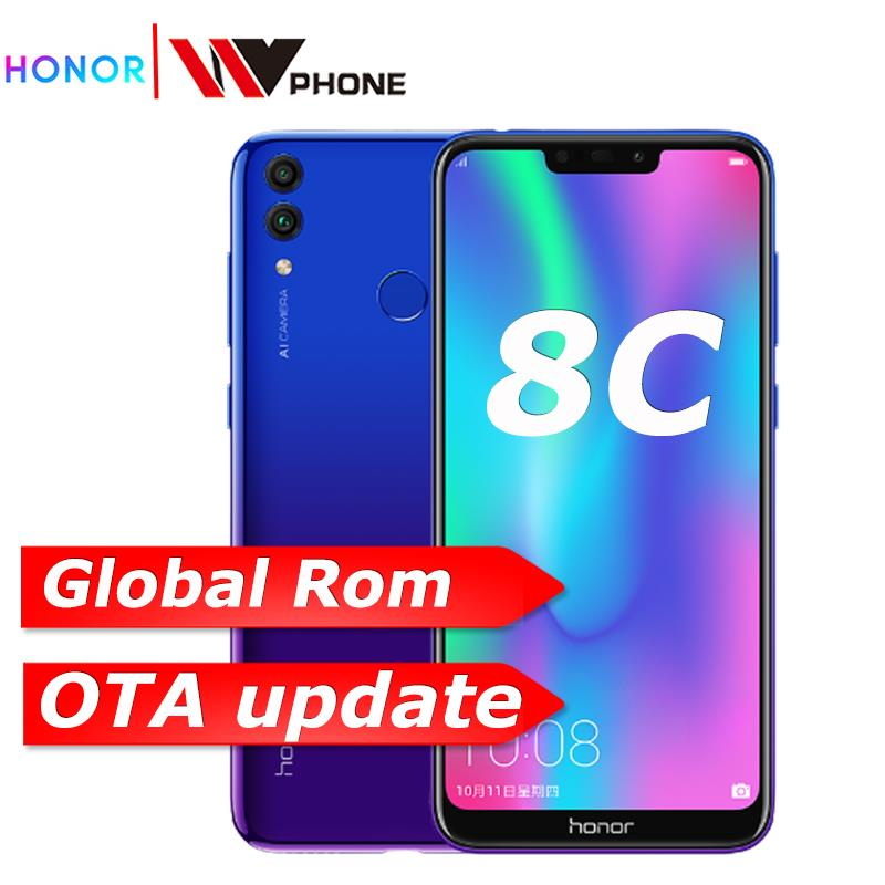 8c Honor 8c 3 slot Face ID 6.26 inch Snapdragon 632 Octa Core Front 8.0MP Dual Rear Camera 4000mAh image
