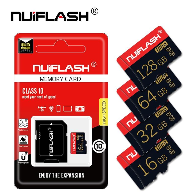 Оригинальная карта Micro SD Class10, карта памяти 64 ГБ, 128 ГБ, мини-флеш-накопитель microSD, 16 ГБ, 32 ГБ, карта памяти TF для телефона