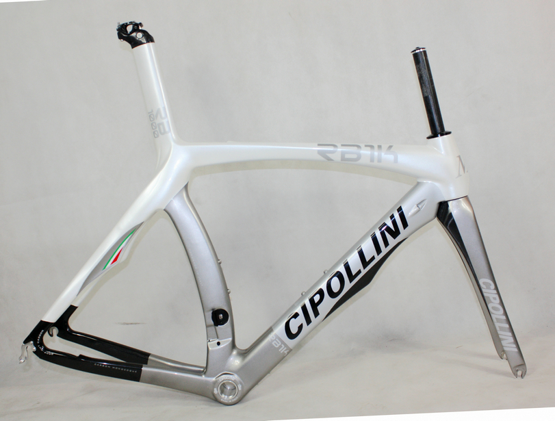 Newest Silver 700C Road Bike T1000 UD 1K Full Carbon Fibre Carbon Bicycle Frame Carbon Fork+seatpost+clamp+headsets Free Ship