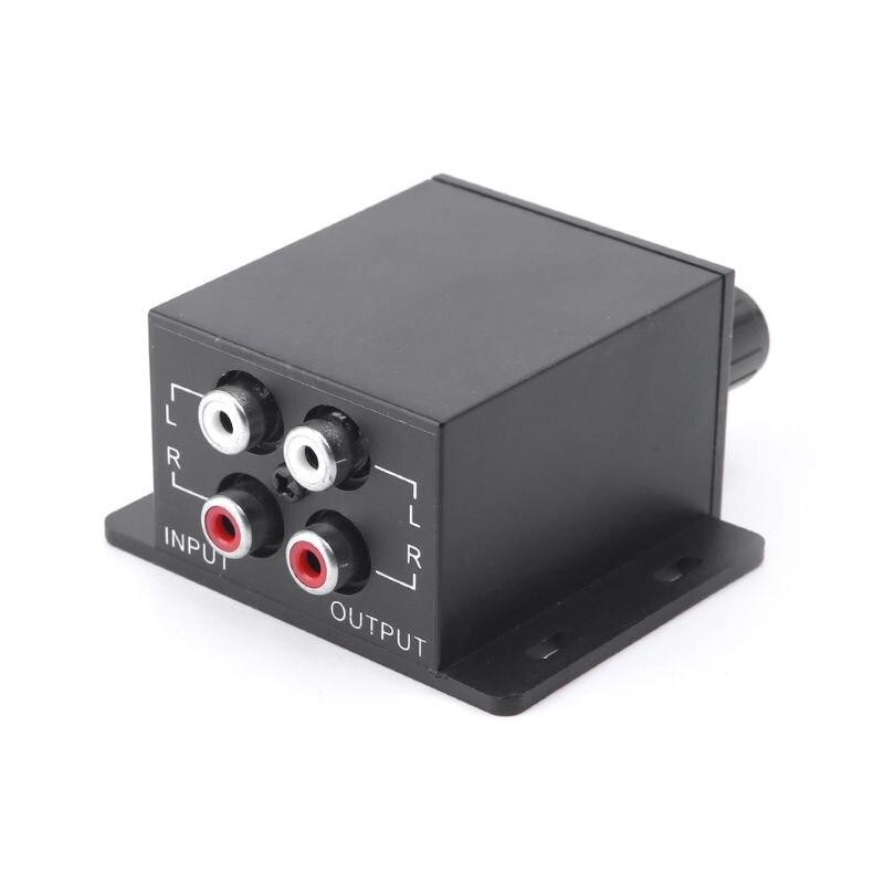 Car Regulator Amplifier Bass Subwoofer Stereo Equalizer Controller 4 RCA