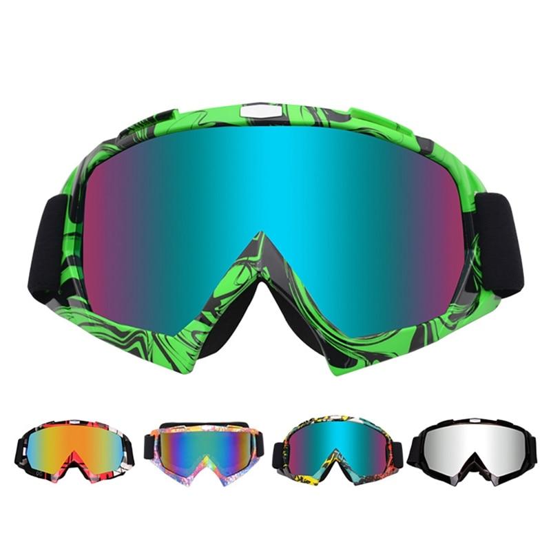 Brand Ski Goggles Big Ski Mask Glasses Skiing Men Women Snow Snowboard Eyewear Anti-sand Windproof