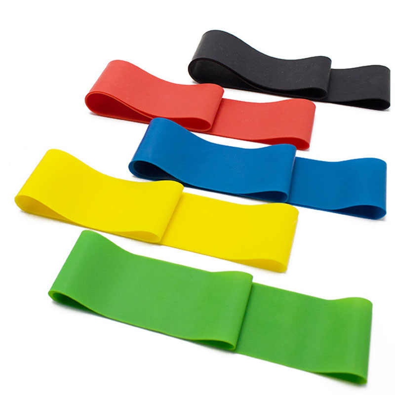 Taśmy oporowe jogi elastyczne Pilates Sport ćwiczenia treningowe Fitness opaski do ćwiczeń pętla Crossfit siłownia sprzęt treningowy
