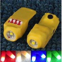 Professional Light-Pair Set ( Red & Four Colors ) Magic Tricks Super Thumb Light Magic Props Stage Magic Gimmick Illusions