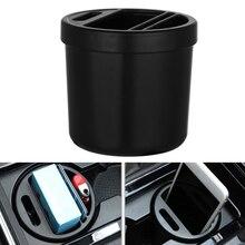 1PC Car Armrest Box Storage Case Auto Organizer Cup Cigarette Coin Card Phone Holder