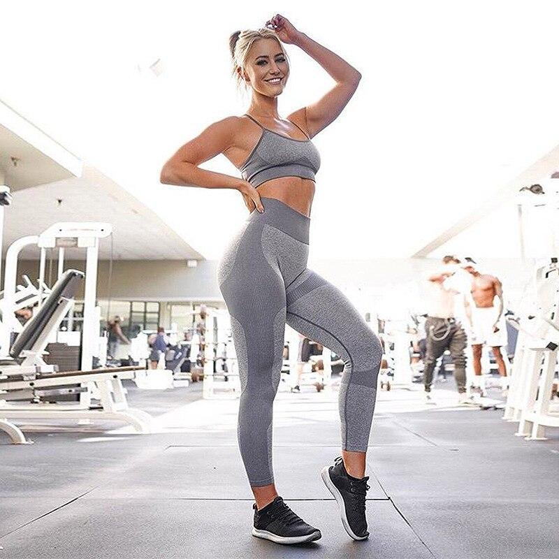 Grey Yoga Suit