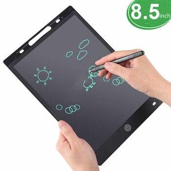 Escrita tablet desenho placa crianças graffiti sketchpad brinquedos 8.5-inch lcd escrita blackboard magia desenho placa