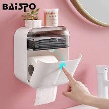 Organizer Paper-Dispenser Tissue-Box Bathroom-Accessories BAISPO Wall-Mount Home Hygienic