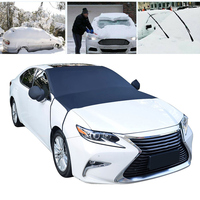 Magnetic Car Windshield Snow Cover Winter Frost Guard Sunshade Protectors Multifunctional B88