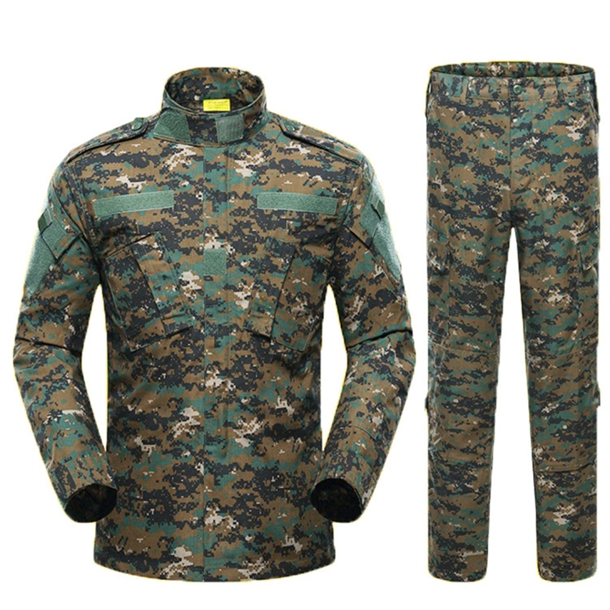 Desert & Jungle Military Jacket Tactical Clothing Warrior Combat-proven Airsoft Uniform Camouflage Suit S-XL Man Costumes ACU