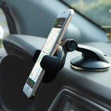 Suporte universal do telefone do carro móvel para o telefone no suporte do carro brisa celular suporte smartphone voiture suporte porta celular