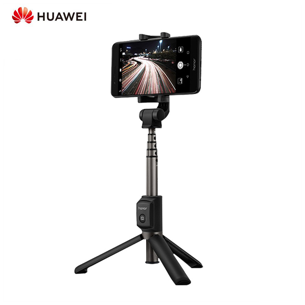 <font><b>Huawei</b></font> <font><b>Honor</b></font> <font><b>AF15</b></font> Selfie Stick + Tripod Portable Selfie Tripod <font><b>Bluetooth</b></font> 3.0 360 Degree Rotation Range Extend To 660mm image
