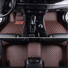Автомобильные коврики SUNNY FOX для Audi A8 L A8L 5D чехол для ног всепогодные автомобильные аксессуары коврики идеальные ковровые вкладыши(2002-сейчас