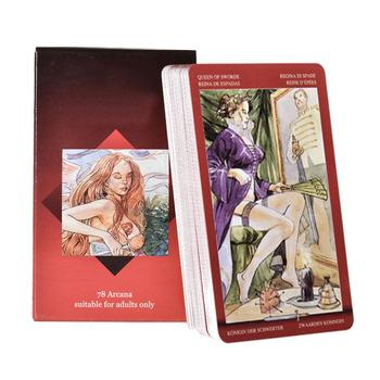 78 Pcs Tarot Love Board Game Card Games English Version Board Game Playing Card Tarot Deck Cards For Family Party Entertainment the rider tarot deck board game 78 2 pcs set new design cards game english edition tarot board game for family friends