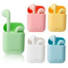 New mini-2 TWS wireless earphones bluetooth 5.0 earphones sports earbuds waterproof earphones for iphone Huawei Xiaomi smartphon