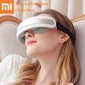 Xiaomi masajeador de ojos Mijia SKG 4301 Dispositivo de cuidado de ojos compresa caliente masaje de arrugas alivio de fatiga Smart 3D masaje de ojos