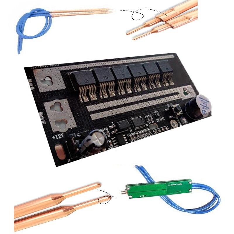Portable Mini DC Energy Storage Spot Welding Machine Control Panel Handheld Small Home DIY