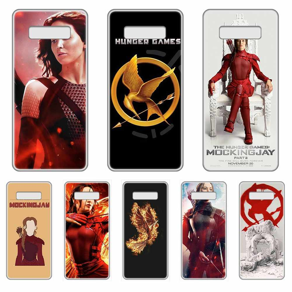 The Hunger Games Mockingjay Part Transparent Phone Case For SamSung Galaxy S 7 8 9 10 11 20 a 20e 50 51 70 71 Plus Edge Ultra