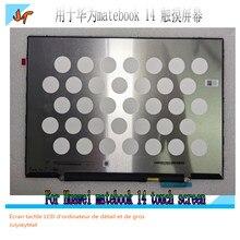 Yeni orijinal KLVC-WFH9L KLVC-WFE9L LCD ekran değiştirme için Huawei matebook 14 dokunmatik LCD ekran 2160*1440 P140ZKA-BZ1 100% sRGB