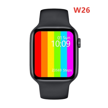 IWO W26 mężczyźni kobiety inteligentny zegarek 44mm 40mm seria 6 wiadomość Push Bluetooth zadzwoń Smartwatch monitorujący tętno tanie i dobre opinie SARMIY CN (pochodzenie) Brak Na nadgarstek Zgodna ze wszystkimi 128 MB Krokomierz Rejestrator aktywności fizycznej