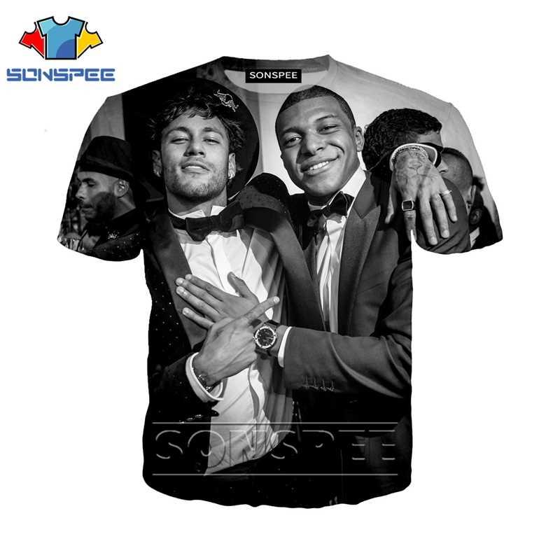 أنيمي 3d طباعة t قميص نيمار الرجال المرأة الأزياء كرة القدم تي شيرت الشارع الشهير الصخور طفل المتناثرة تيز مضحك قمصان أوم التي شيرت a82