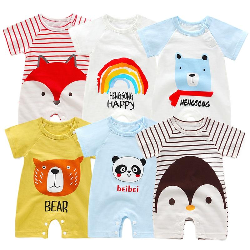Romper Baby Girl Rompers Newbon Boys Clothes Girls Clothing Bodysuits Toddler Boy Clothes Newborn Roupas Bodysuit Unisex