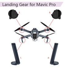 Landing gear Left Back Leg Front Rear Feet Engine Cover Base Mount for DJI Mavic Pro Repair Kits Stand Drone Accessories