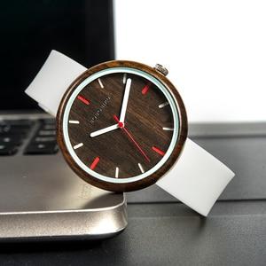 Image 2 - BOBO BIRD R28 relogio feminino Colorful Silicone Strap Womens Watches Quartz Wristwatches reloj mujer Women Watch Fashion Gifts