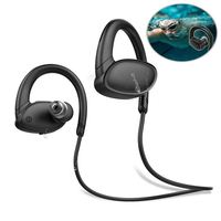 FFYY OVEVO X9 HiFi Bluetooth Headphones ,IPX7 Waterproof Fish Bionic 8G MP3 Earphone with Microphone Handfree Ear Hook for Swimm