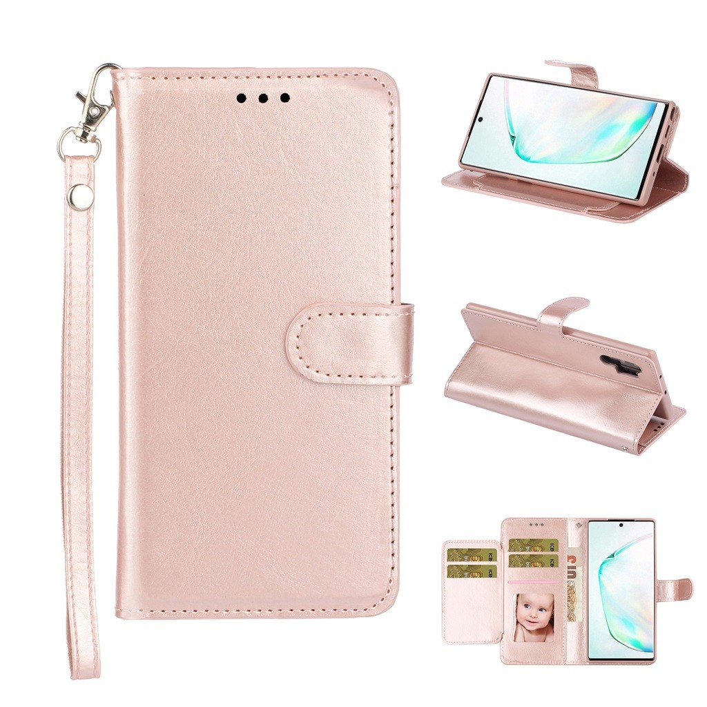 Dual-Use Card Wallet Flip Leather Case Cover For Samsung Galaxy Note 10 Pro Mobile Phone Cases Back Covers