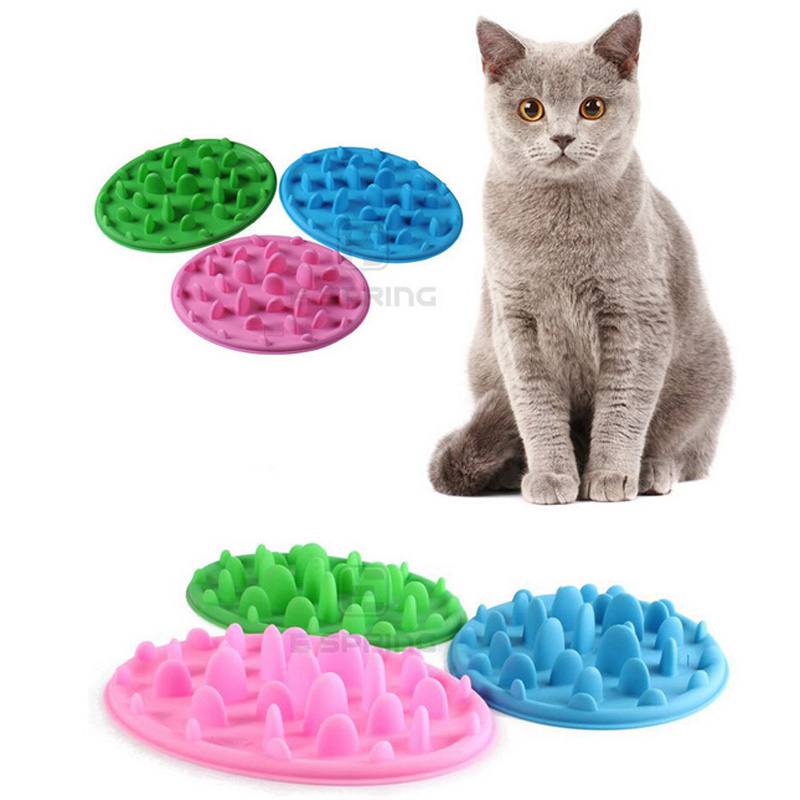 Pet Food Bowl Interactive Feeder Digestion Puzzle Bowl Slow Food Anti Choke Interactive Slow Feeding Feeder For Dogs Cats 16 2