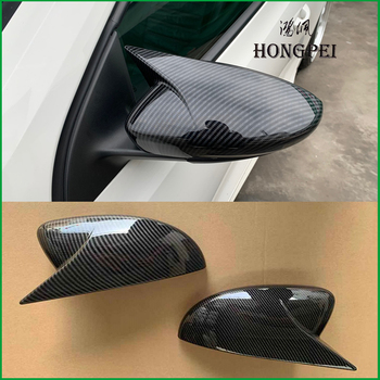 For Volkswagen VW Scirocco 2009-2018 Door Side Wing Rearview mirror Cover Sticker Trim Car Styling Accessories