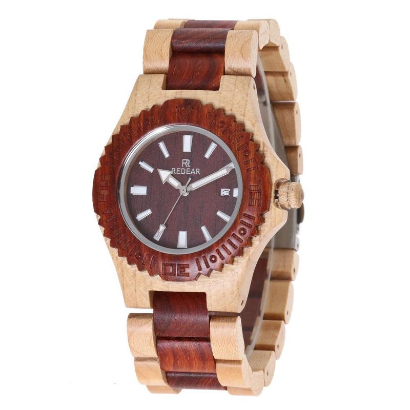 2019 Rushed Manufacturer Of Spot Maple For Red Wingceltis High-grade Quartz Movement Between Wood Watches Sold The New
