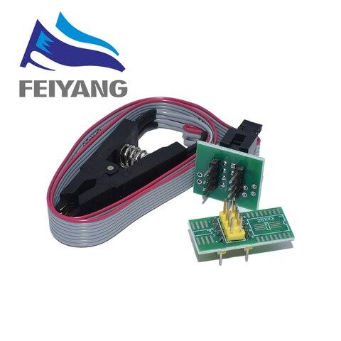 10pcs Smart Electronics CH340 CH340G CH341 CH341A 24 25 Series EEPROM Flash BIOS USB Programmer with Software & Driver Karachi