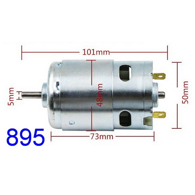 JOHNSON RS-775 DC 12V-24V 18V 17500RPM High Speed Motor DIY Electric Drill Tools