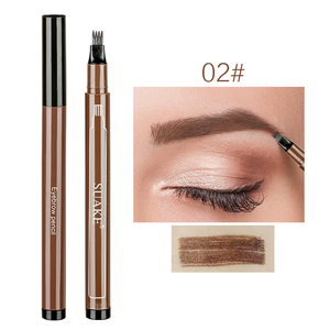 1PC Women Makeup Sketch Liquid Eyebrow Pencil Waterproof Brown Eye Brow Tattoo Dye Tint Pen Liner Long Lasting Eyebrow TSLM2