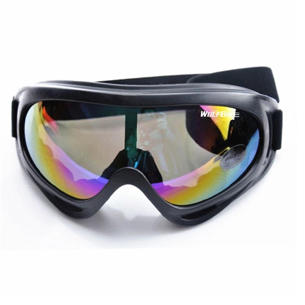 Winter Ski Snowboard Skate Goggles Cycling Ski Glasses UVA/UVB Protection Dustproof Moto Cycling Sunglasses Skiing Eyewear