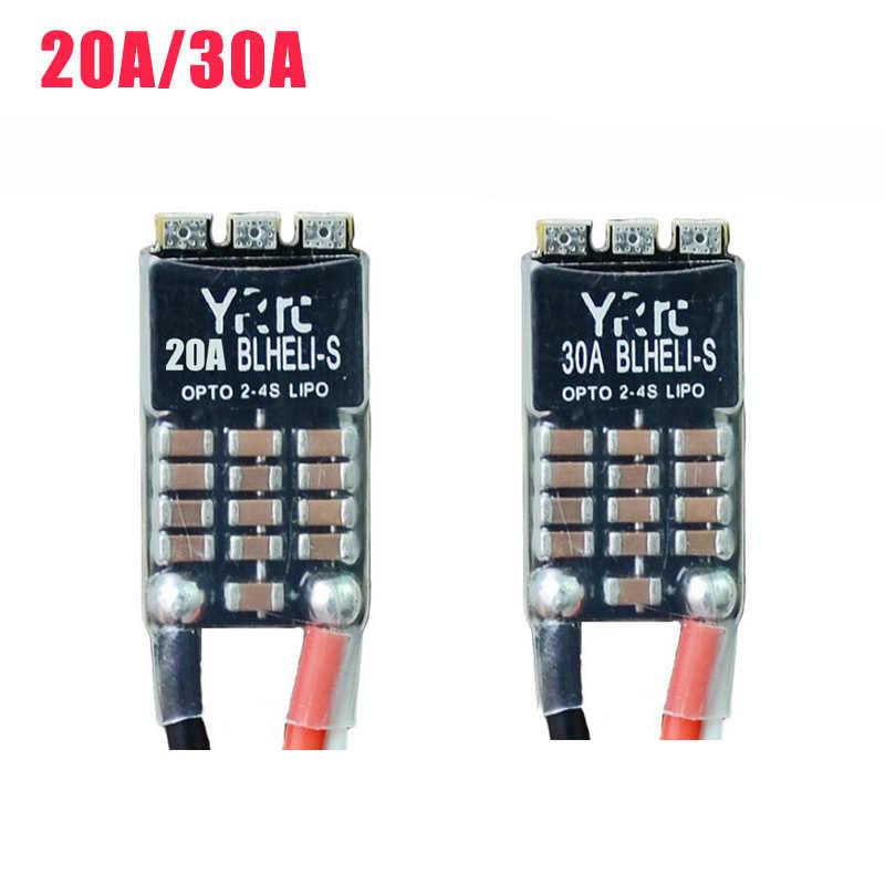 YRRC 20A a 2-4S Blheli_S DSHOT600 dispositivos optoelectrónicos a sin escobillas ESC para RC Drone FPV Quadcopter repuestos accesorios