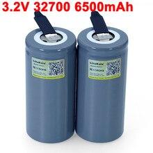 2021 LiitoKala 32700 LiFePO4 3.2V 6500mah 33A 55A spawane taśmy niklowe arkusze do wkrętaka akumulator elektryczny rower zasilany
