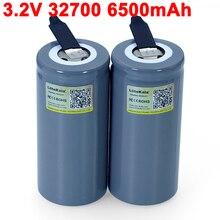LiitoKala – feuilles de Nickel soudées pour tournevis, pour batterie, vélo électrique, 2021 LiFePO4 32700 V 3.2 mah 33a 55a, 6500