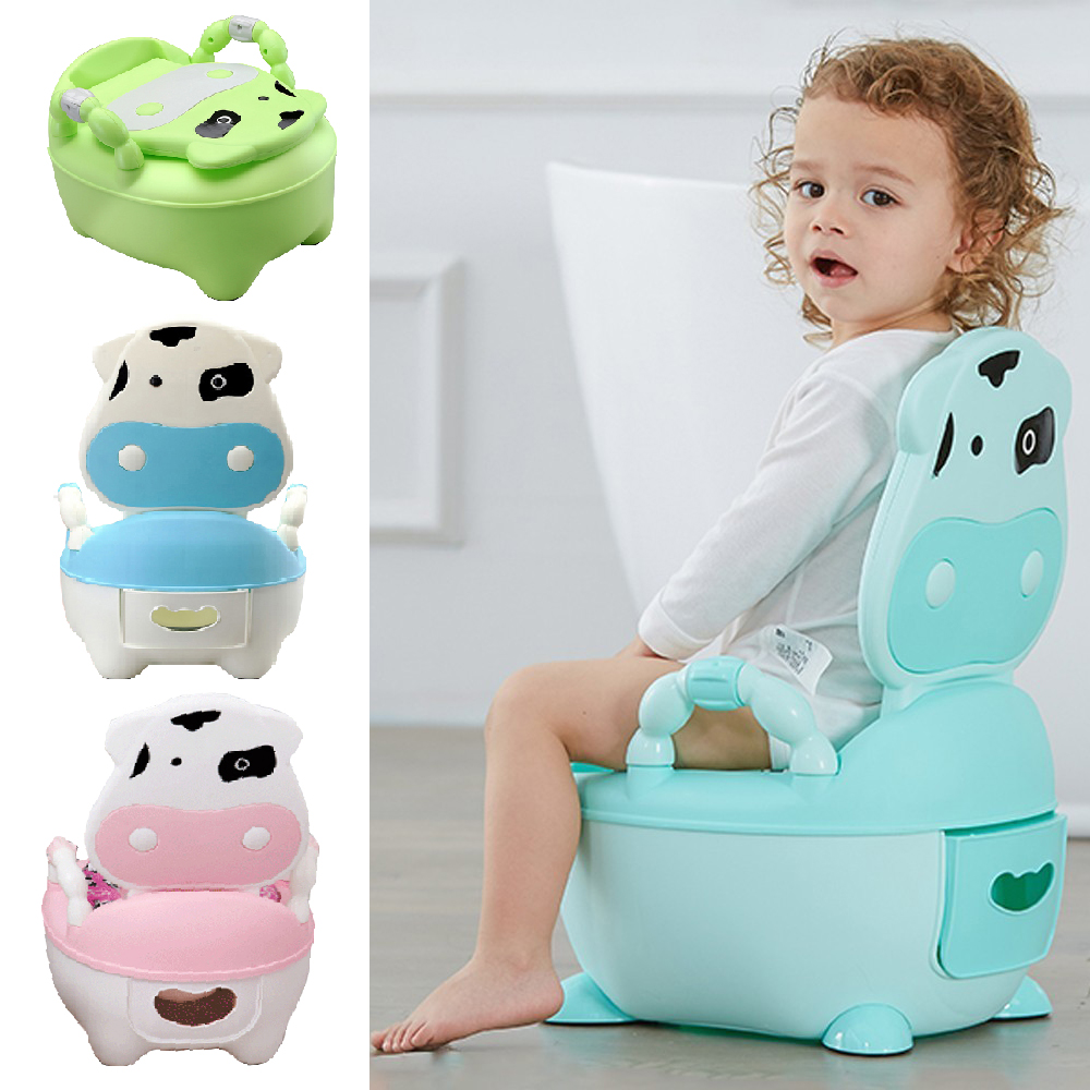 2 in 1 Kids Toilet Seat Baby Toddler Training Potty Trainer Safety Urinal Chair