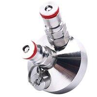 100% marke Neue Ball Lock Mini Keg Tippen Dispenser für Mini Bier Fass Edelstahl Dispenser 3.6L/5L/ 10L Bier Werkzeug-in Bier brauen aus Heim und Garten bei