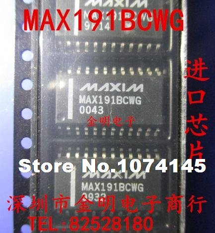 2pcs/lot  MAX191BCWG MAX191 SOP24