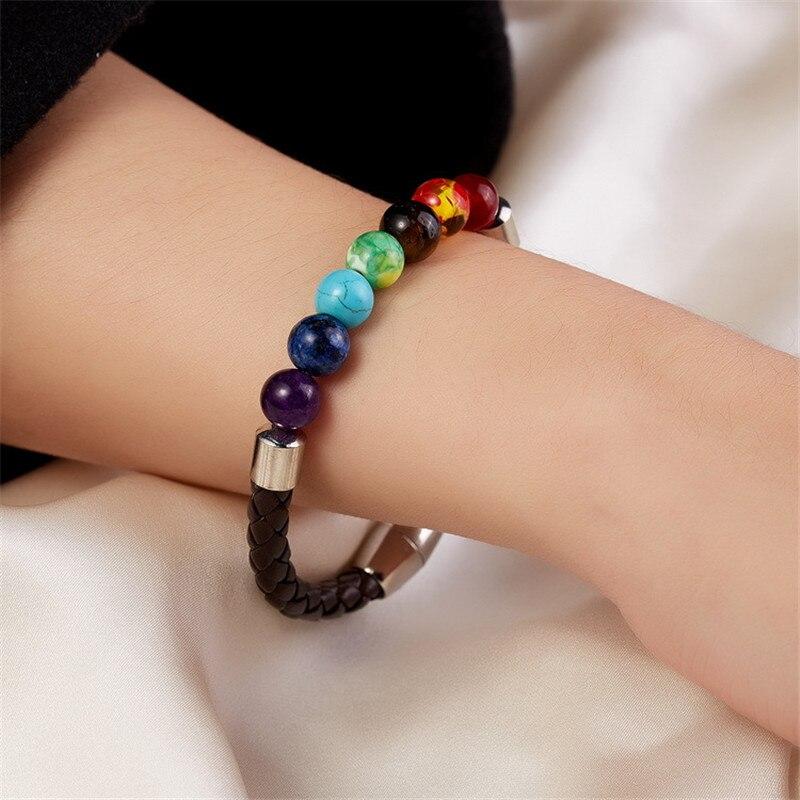 Chakra Yoga Bracelet Magnetic Beaded