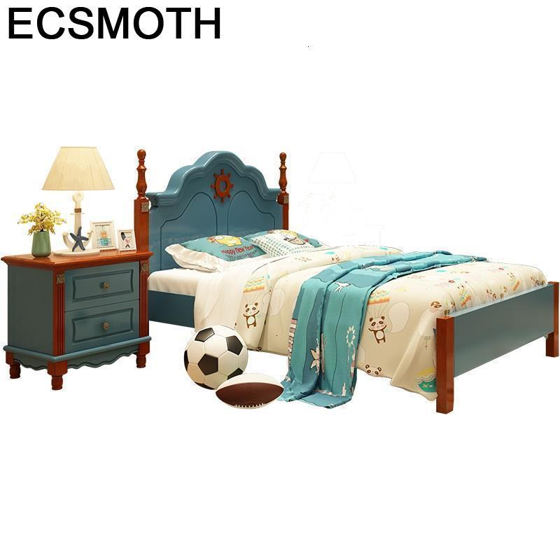 Yataklari For Infantiles Crib Letto Cocuk Ranza Kinderbedden Litera Wood Muebles Lit Enfant Wooden Cama Infantil Children Bed