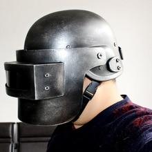 PUBG Cosplay Chicken Dinner Level 3 Helmet Playerunknowns Battlegrounds Third class Head Cap Face Cosplay Role Play Game Props