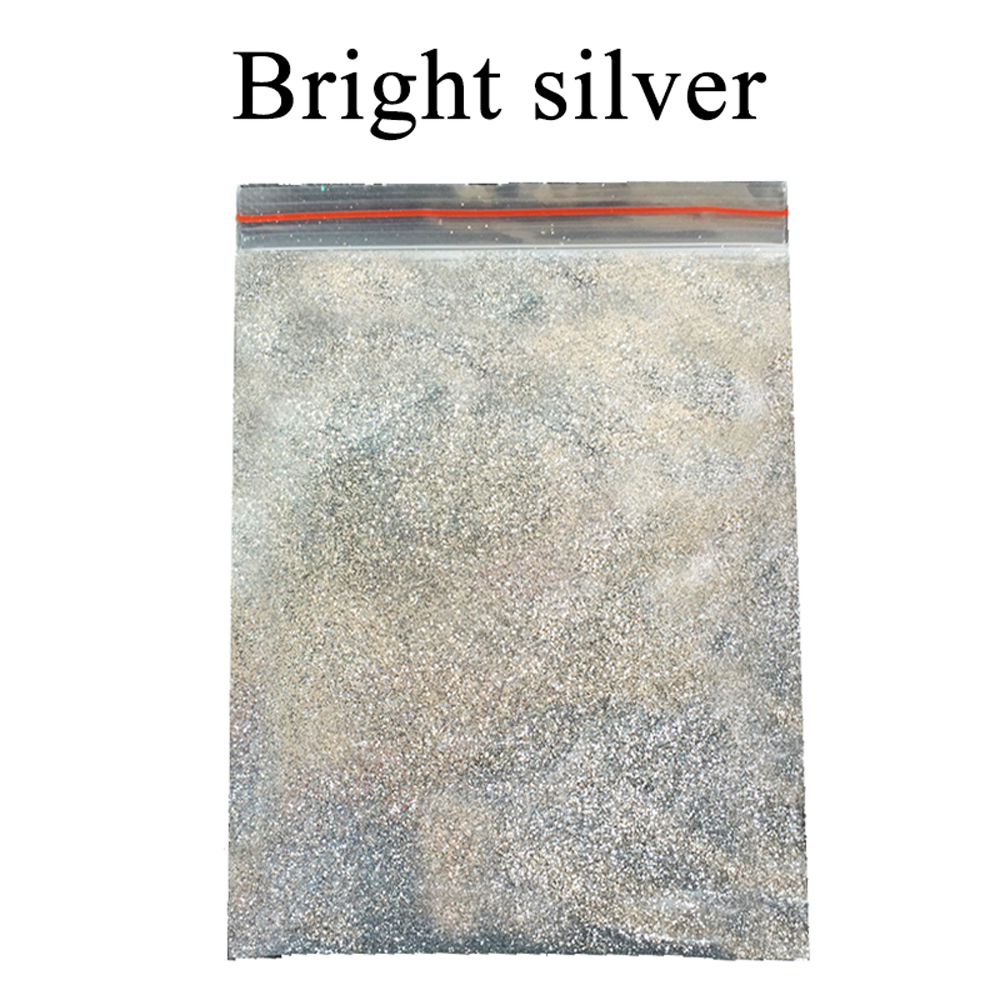 Bright Silver Glitter Powder Pigment Coating Paint Powder For Paint Nail Decoration Automotive Art Craft Mica Powder Pigment