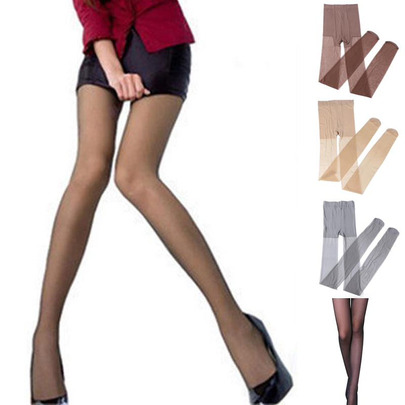 Ladies Ultra-thin Women Elastic Velvet Magical Tights Shaping Slim Fit Sexy Pants
