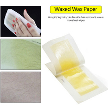 Hair Removal Wax Paper For Face Arm Leg Armpit Body Double-sided Hair Removal Beeswax Strips Depilation Supplies Women Skin Care